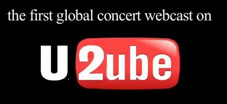 U2 Webcast no Youtube