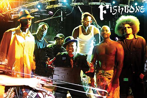 FISHBONE com sua mistura sonora no Brasil em Julho/2010
