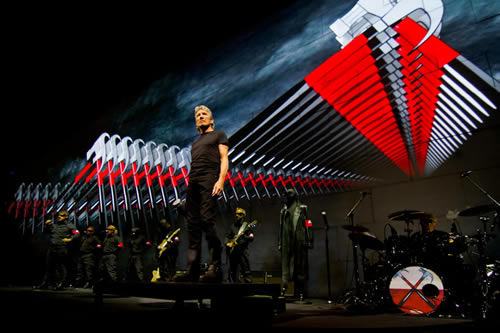 The Wall com Roger Waters 2012, no Estádio do Morumbí