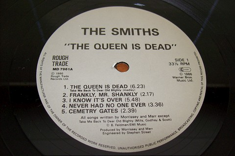 30 anos do clássico The Queen is Dead – The Smiths