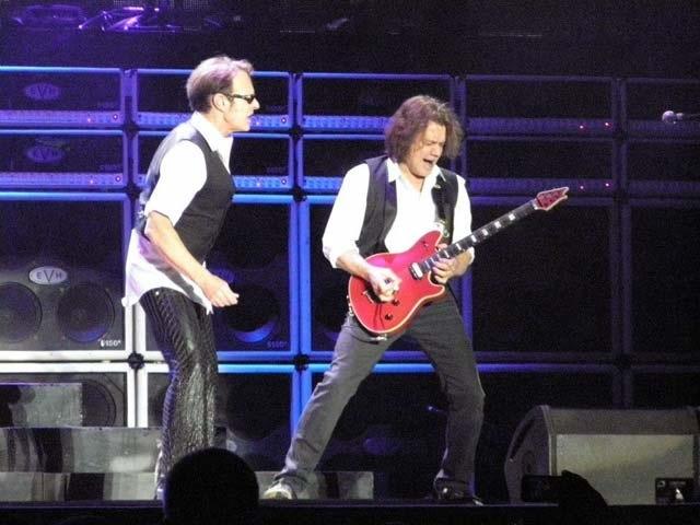 Van Halen volta aos shows em Festival na Austrália com Aerosmith