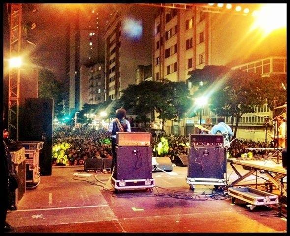 A musicalidade de Billy Cox e banda na Virada Cultural 2013