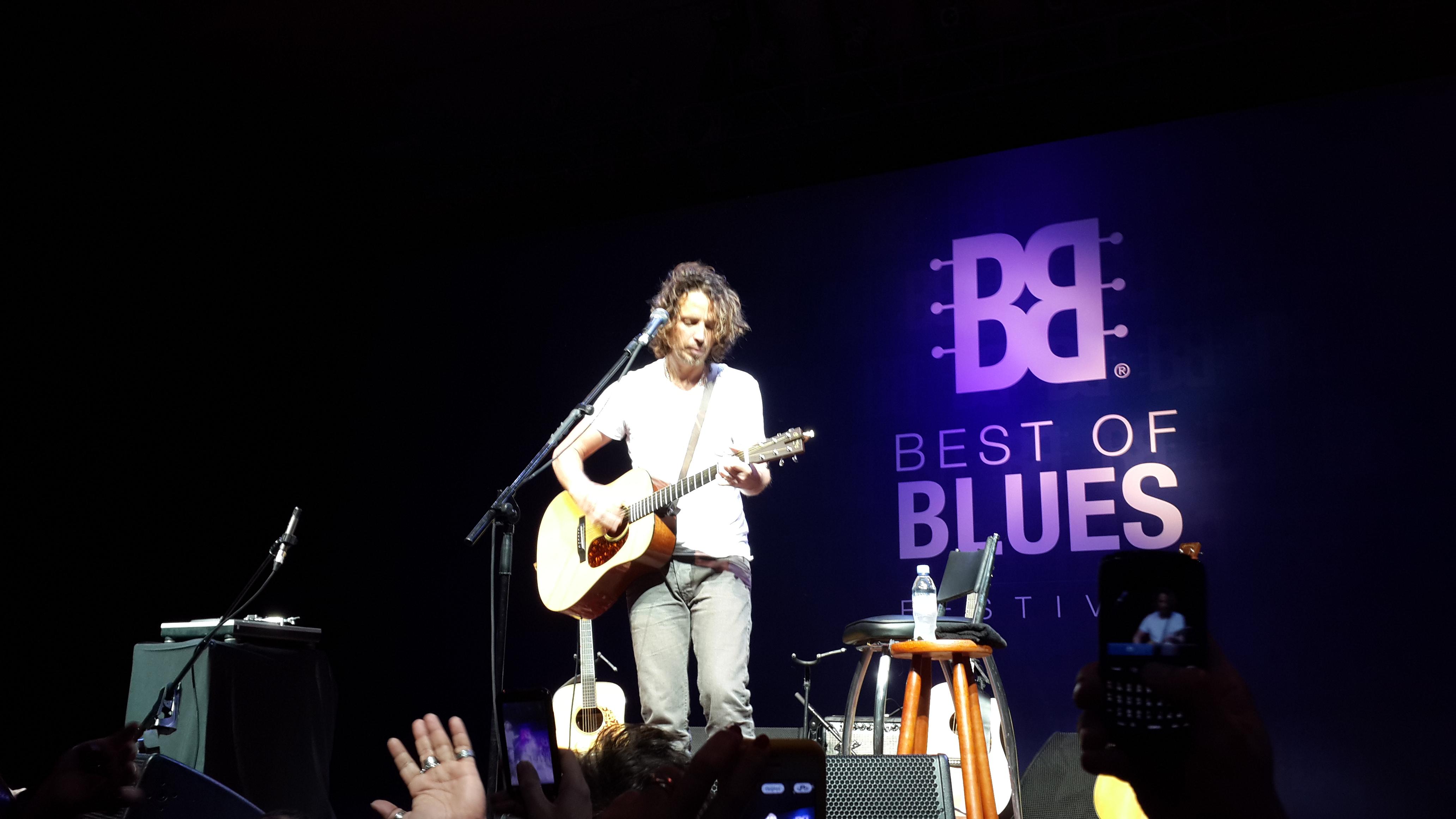 Chris Cornell mostra o Grunge vivo em Festival de Blues em Sampa