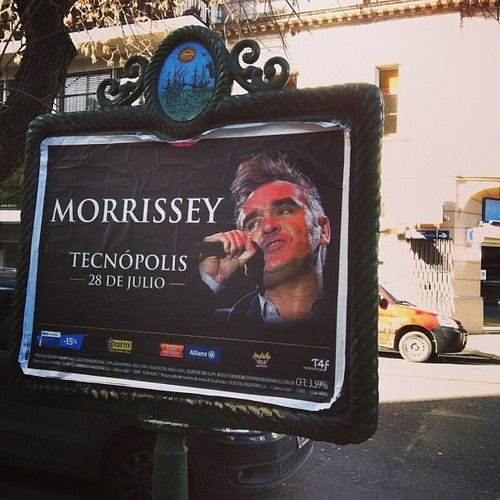 Morrissey tour 2013 em suspenso… mas datas no Brasil ainda confirmadas pela Time For Fun (Cancelado) :(