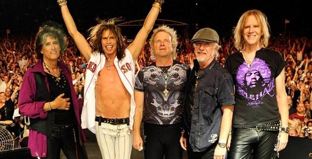 Aquecimento e Setlist Aerosmith Brasil 2013