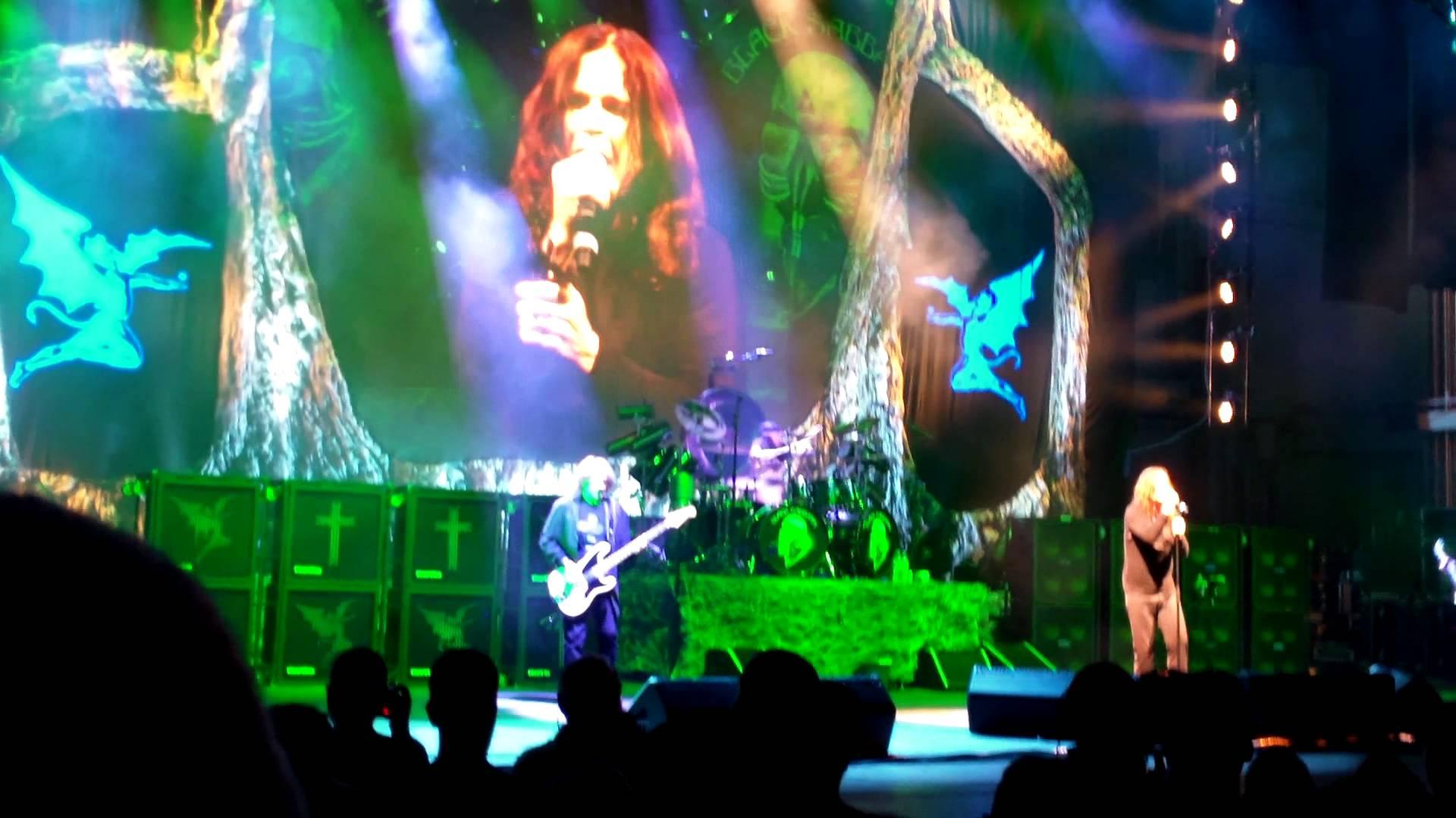 Aquecimento e Setlist Black Sabbath 2013 no Brasil