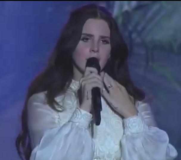 Lana Del Rey em Sampa
