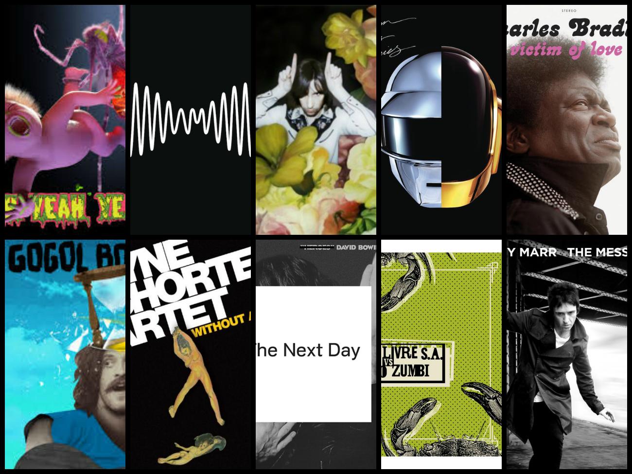 Melhores Discos de 2013 – TOP 10 Álbuns do Ano