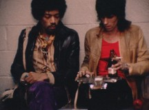 Jimi Hendrix e Keith Richards
