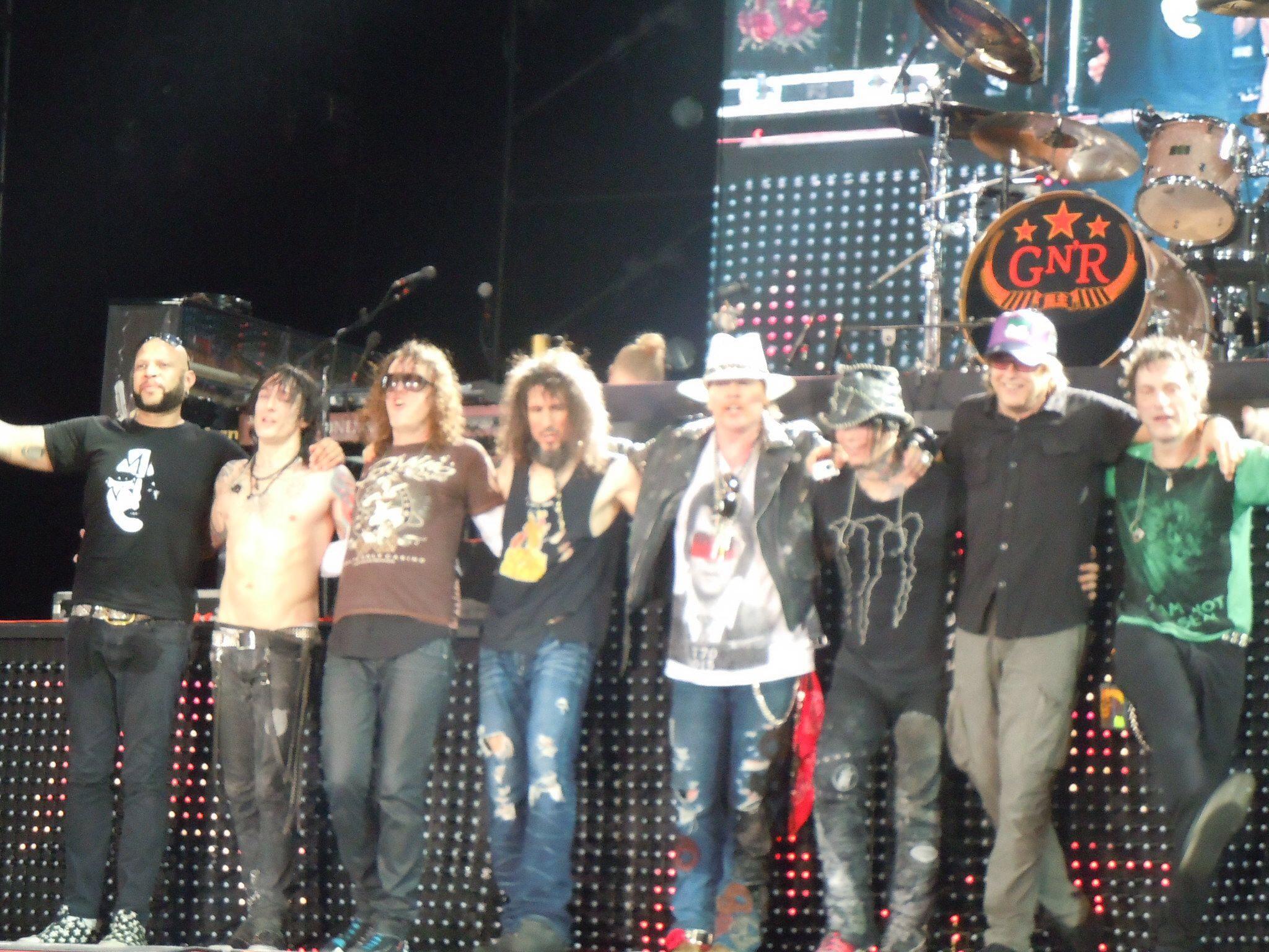 Guns and Roses versão 2014 em Tour na América Latina