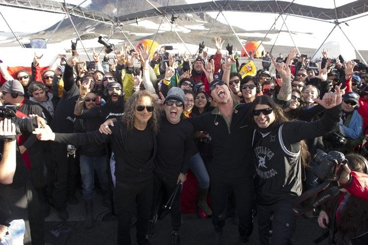 Metallica By Request na América do Sul