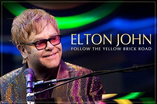 Elton John no Brasil em 2014 – Follow the Yellow Brick Road Tour