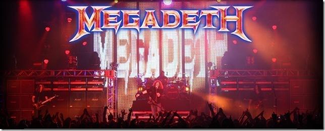 Megadeth com Show Único em SP