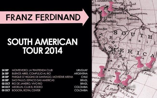 Franz Ferdinand Tour 2014