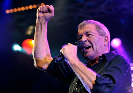 Ian Gillan o mais clássico vocalista do rock setentista