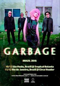 Garbage 2016 no Brasil