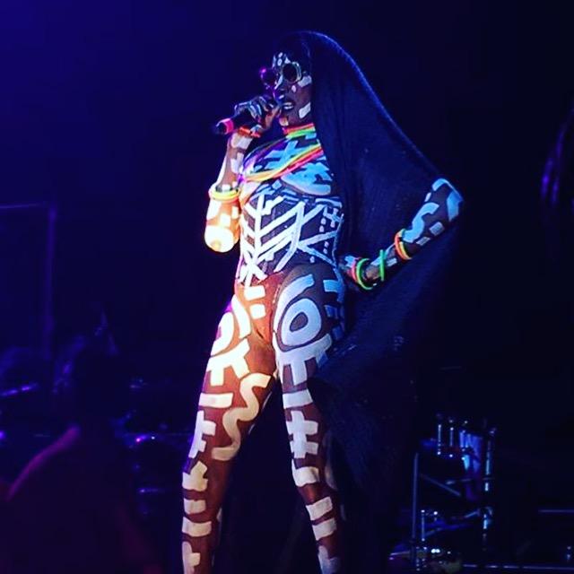 Grace Jones ao vivo em Sampa - Nov/16