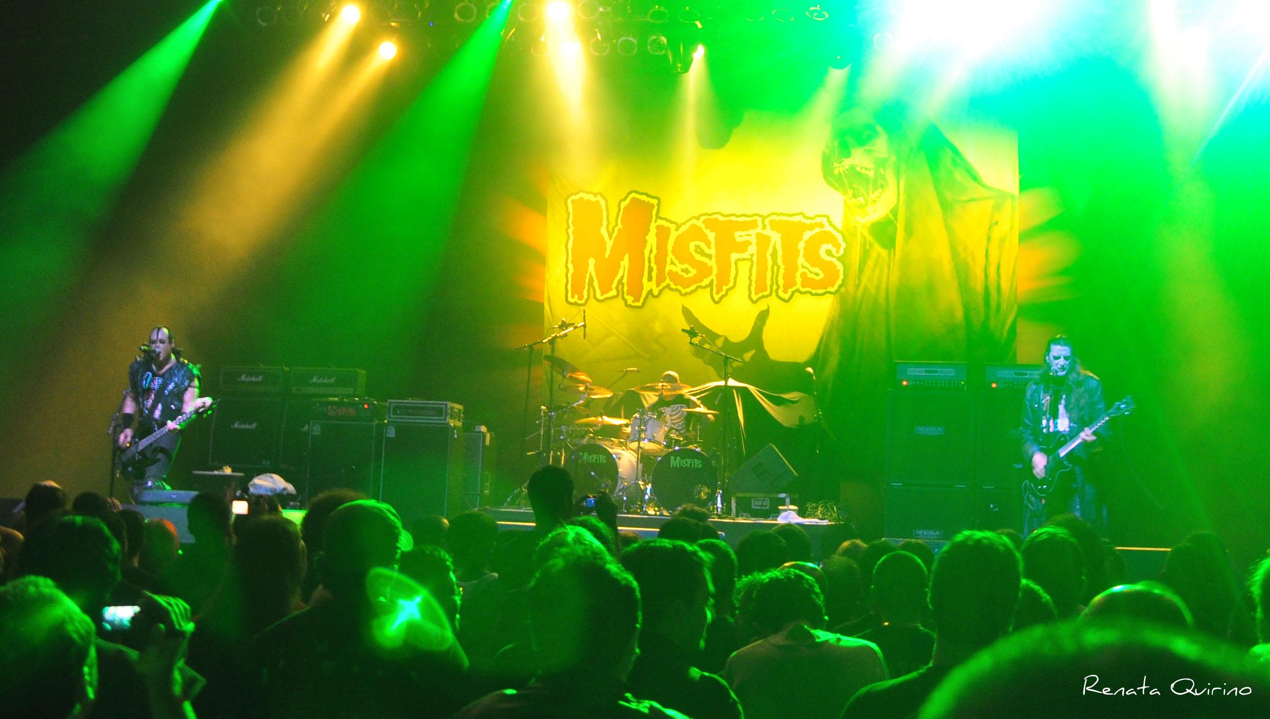 Com abertura do Misfits, Anthrax faz grande show em São Paulo
