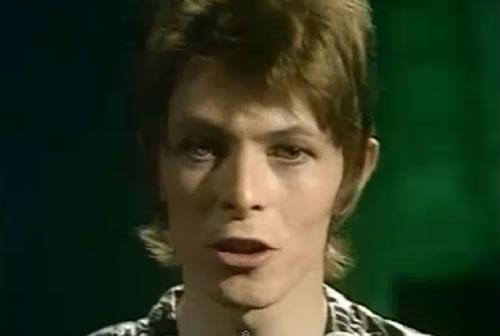"""Bowie ao vivo na BBC em 1972 – """"Oh, You Pretty Things"""""""