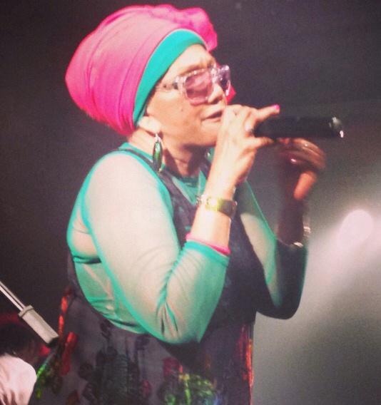 Marcia Griffiths mostrou todas armas do reggae em São Paulo