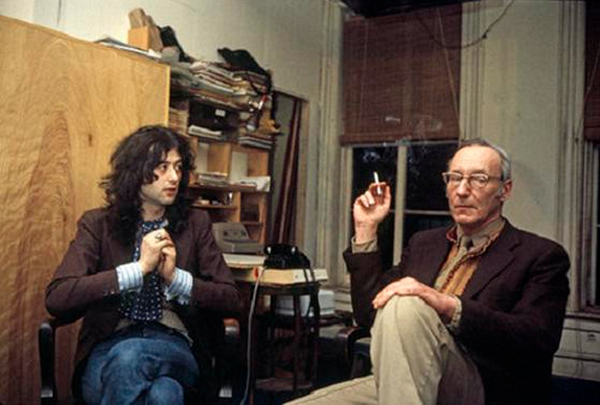 William Burroughs, o oráculo do rock
