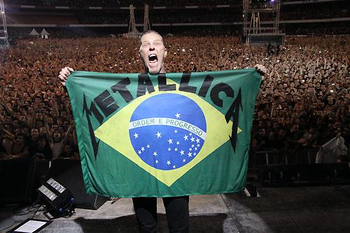 Show do Metallica Live By Request em São Paulo