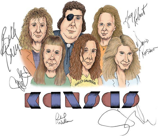 Hard Rock do Kansas em tour 2014 no Brasil e Chile