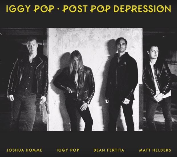 """Iggy Pop mostra Gardenia som """"secreto"""" em parceria com Josh Homme"""