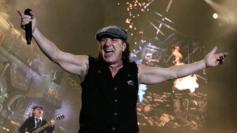 Brian Johnson, ex-AC/DC, volta aos palcos com Robert Plant e Paul Rodgers