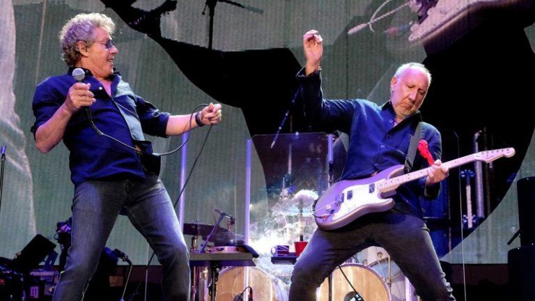Aquecimento para a estréia do The Who no Brasil