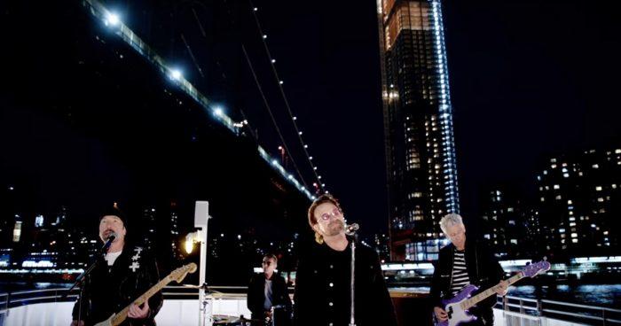 U2 dá rolezinho em NY em You're the Best Thing About Me