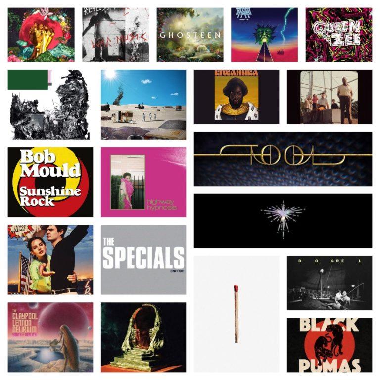 Melhores álbuns de 2019 + Playlist Top 20 discos do ano